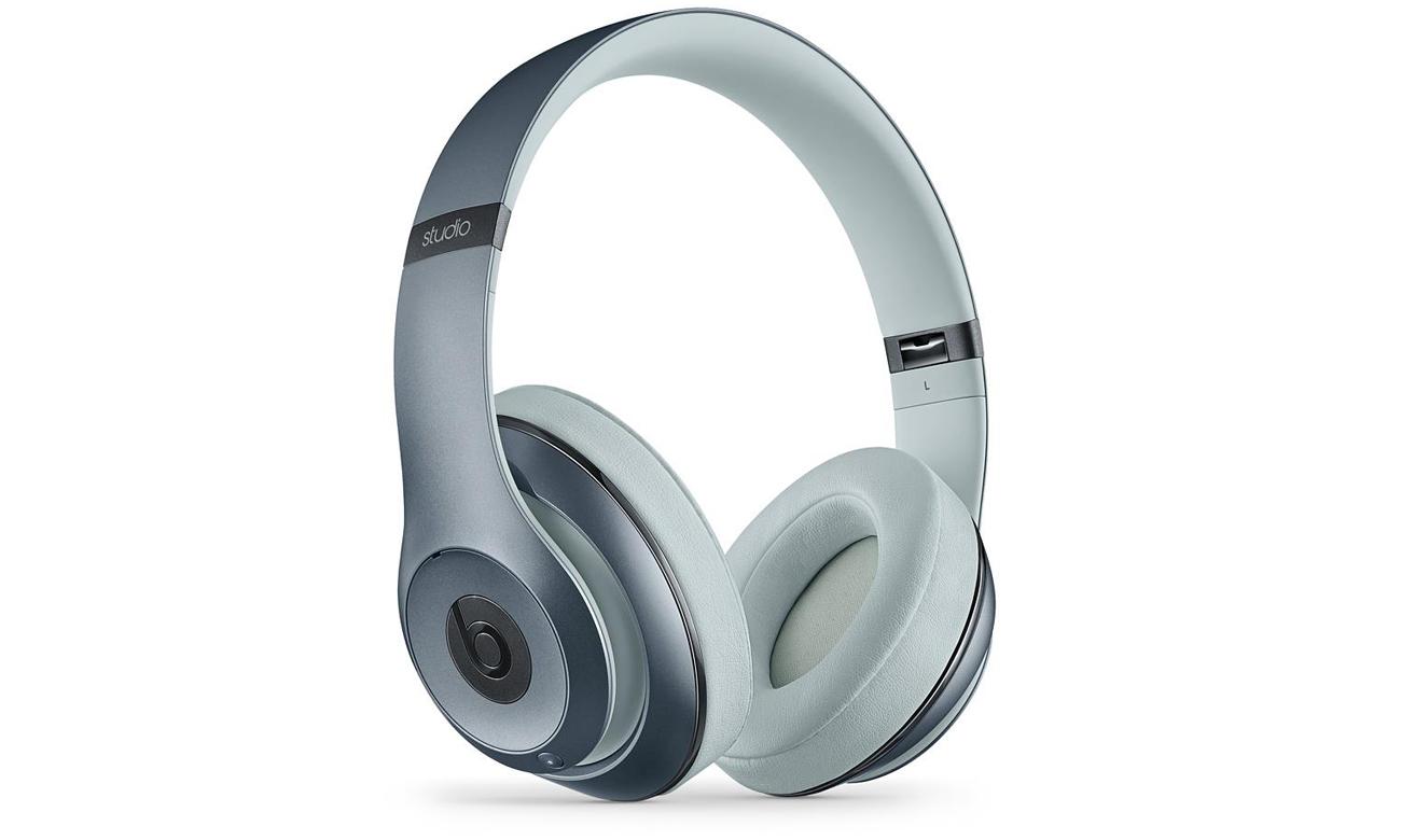Słuchawki Apple Beats Studio Over-Ear Jasno-Szare Technologia ANC