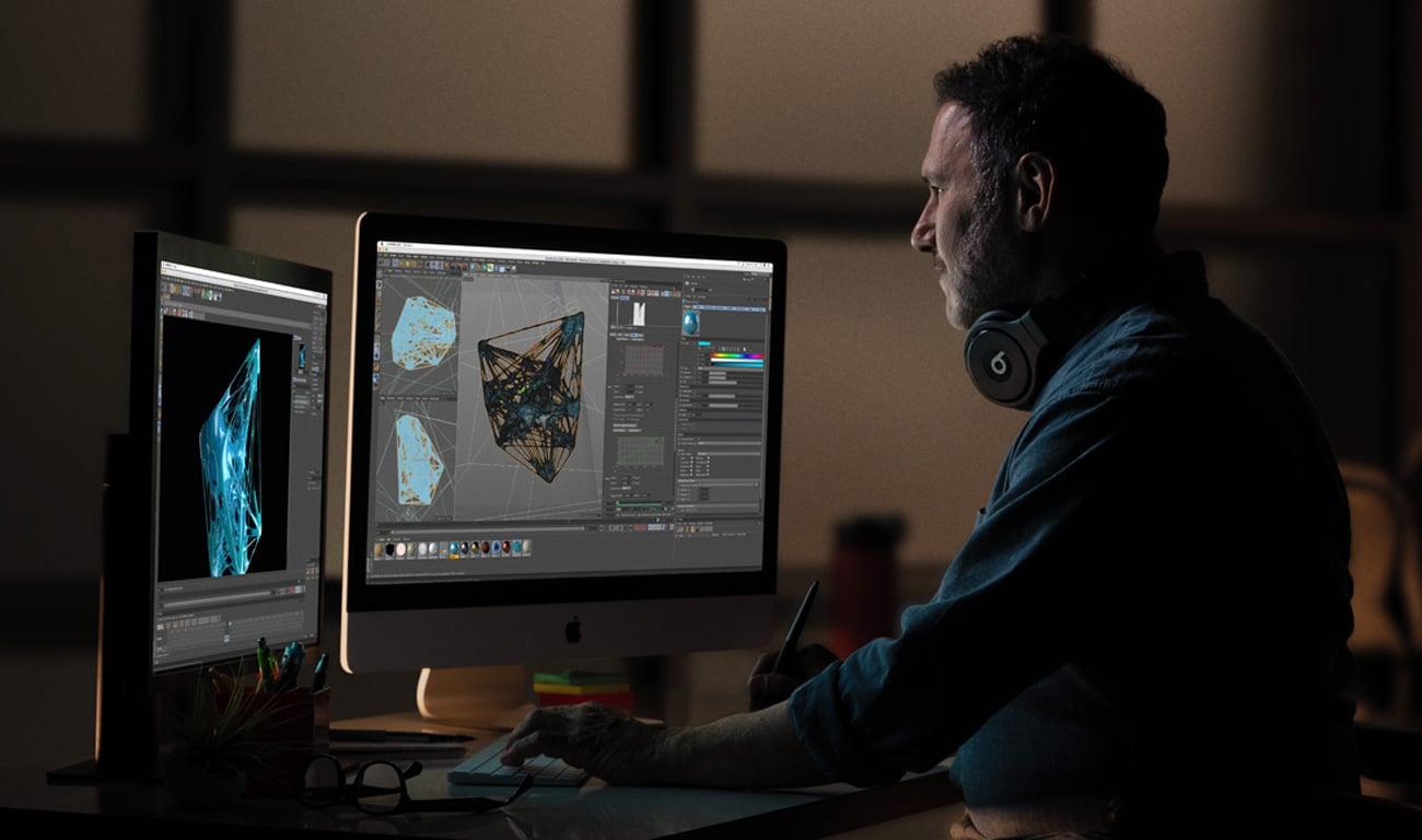 Apple iMac Retina 5K ekran rozdzielczość 5K