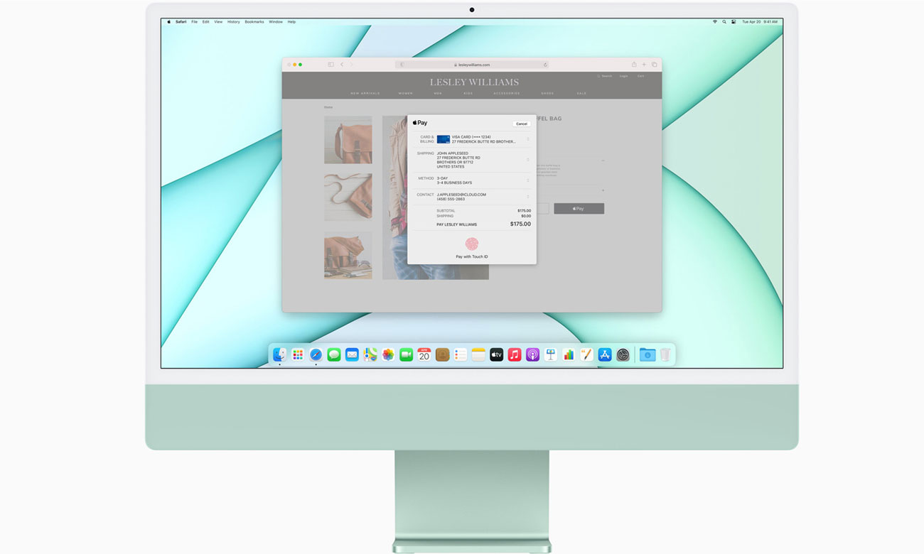 Apple iMac 24 M1 Aplikacje