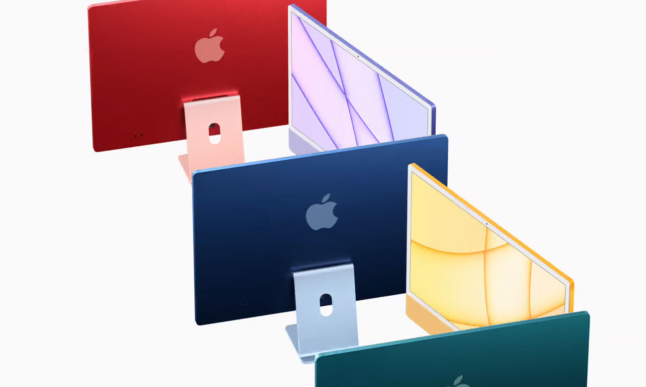Apple iMac 24-cale z czipem M1