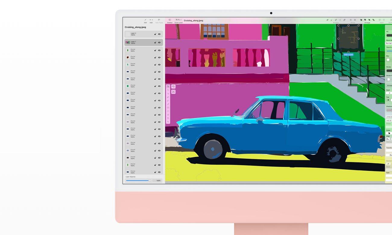 Apple iMac 24 procesor Apple M1