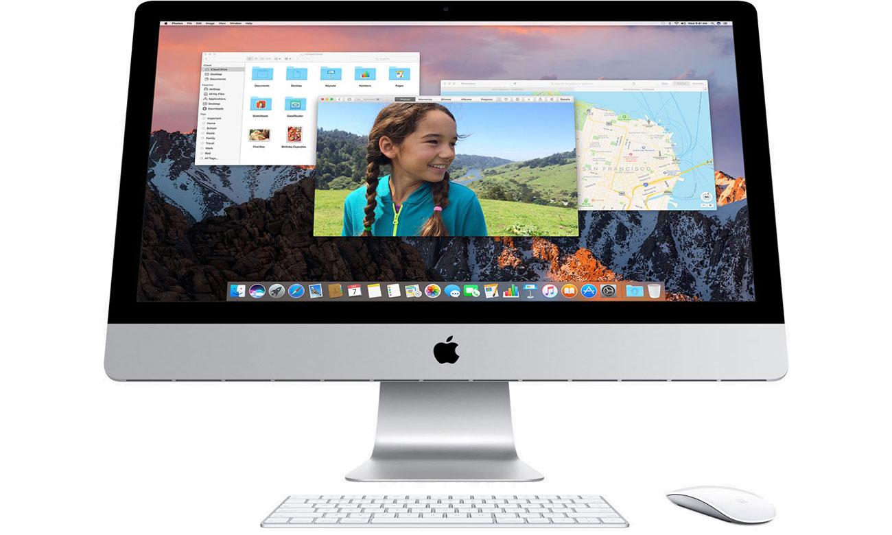 Apple iMac Retina do pracy do zabawy system operacyjny osx