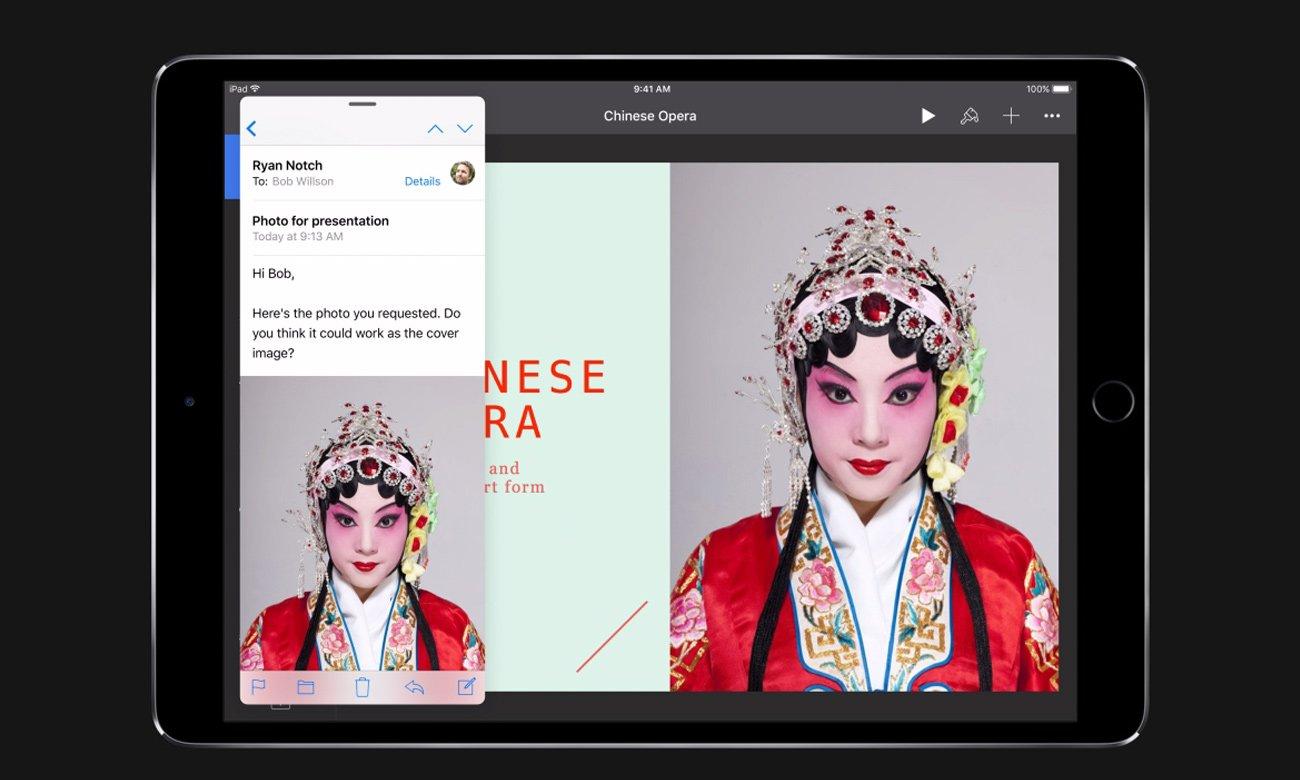 Apple NEW iPad Pro wielozadaniowość