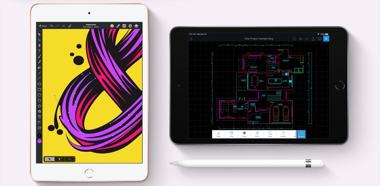iPad mini smukła konstrukcja