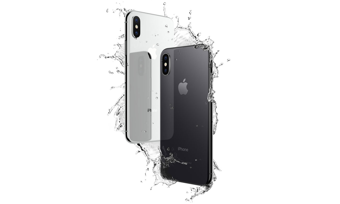 Apple iPhone X obudowa ze szkła i metalu