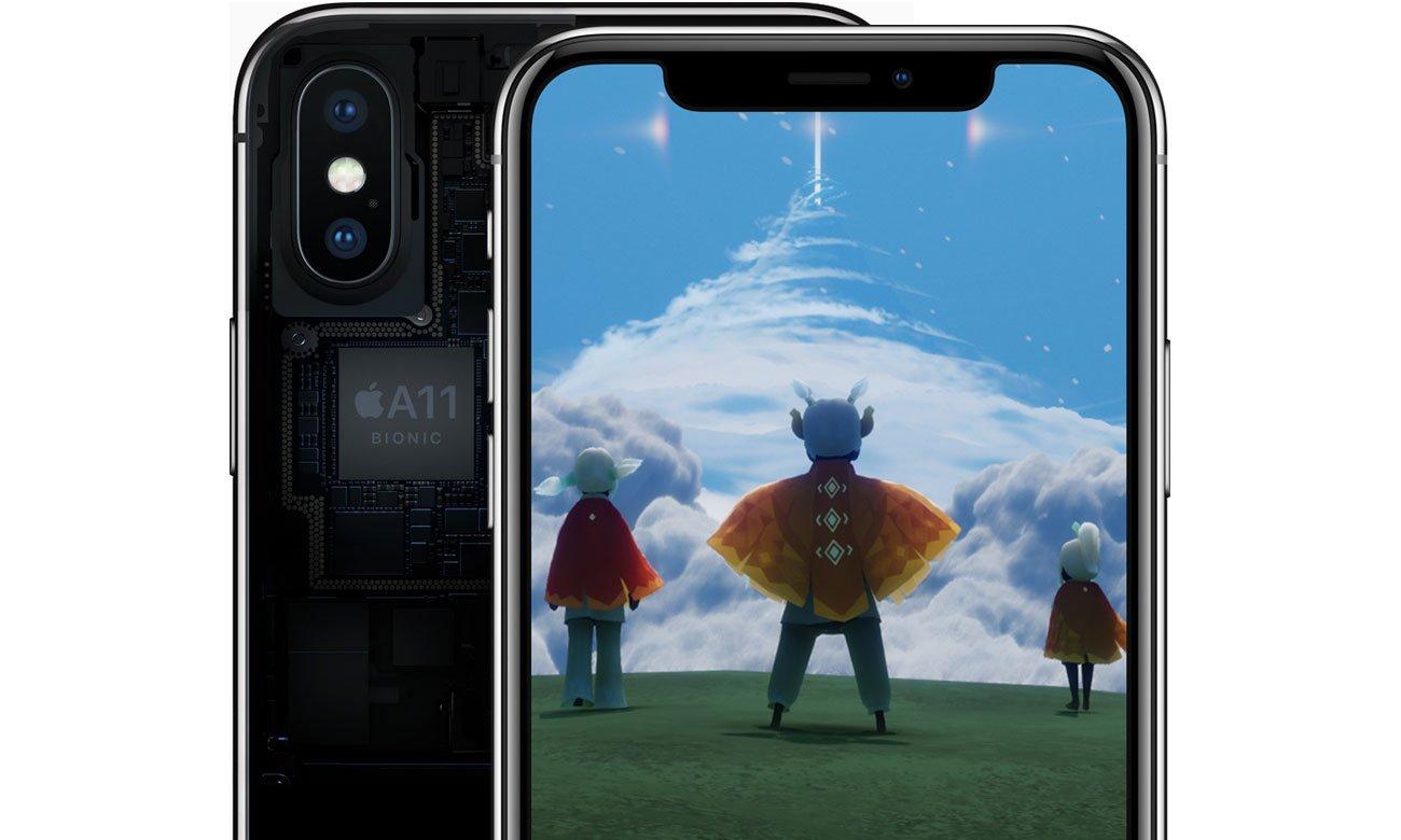 Apple iPhone X czterordzeniowy procesor Apple A11 Bionic