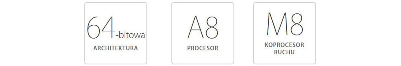 Apple iPhone 6 32GB Space Gray procesor apple a8