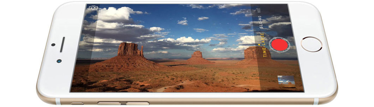 Apple iPhone 6 32GB Space Gray kaemra iSight
