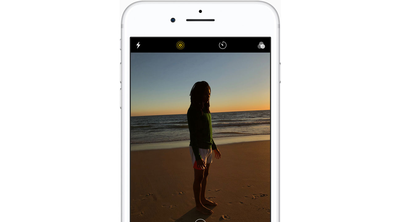 iPhone 8 tryb portretowy