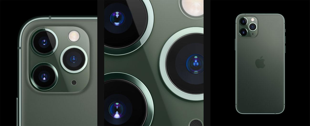 iPhone 11 pro potrójny aparat 12 mpix teleobiektyw
