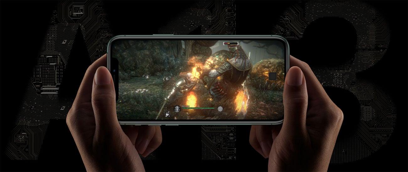 iPhone 11 pro max wydajny i inteligentny procesor a13 bionic