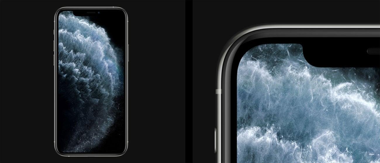 iPhone 11 pro max zachwycający ekran oled super retina XDR