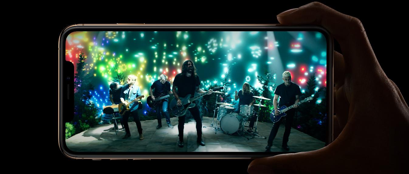iPhone Xs Max ekran super retina