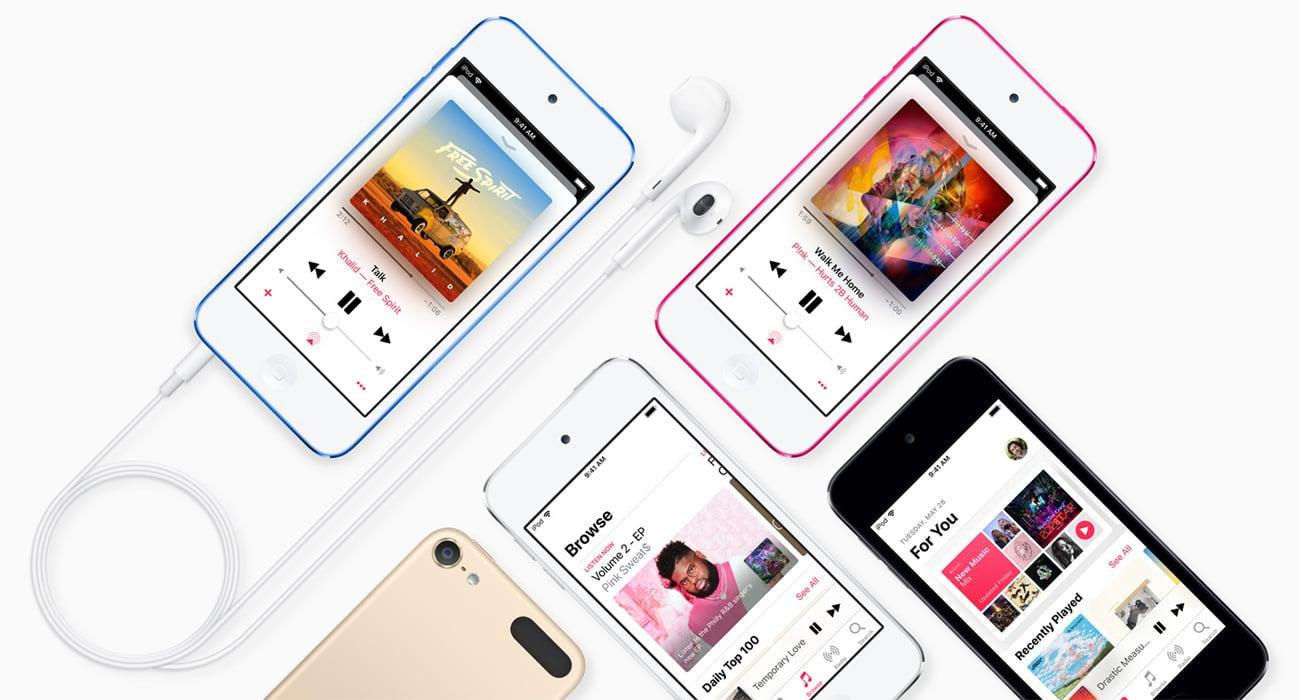 Niesamowity wyświetlacz Retina o przekątnej 4 cali w iPodzie touch
