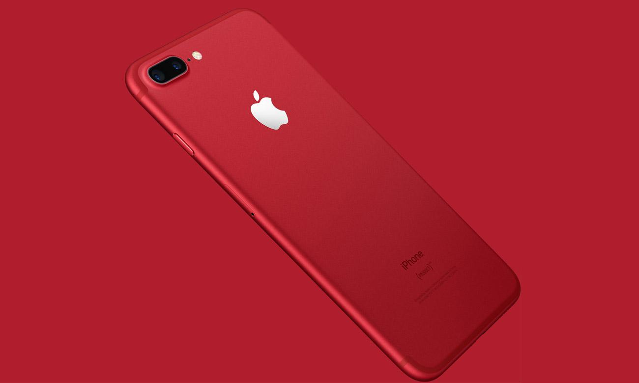 iPhone 7 Plus 128GB Red Special Edition nagrywanie 4K