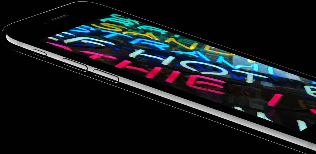 wyświetlacz retina w iPhone 7 32GB Jet Black