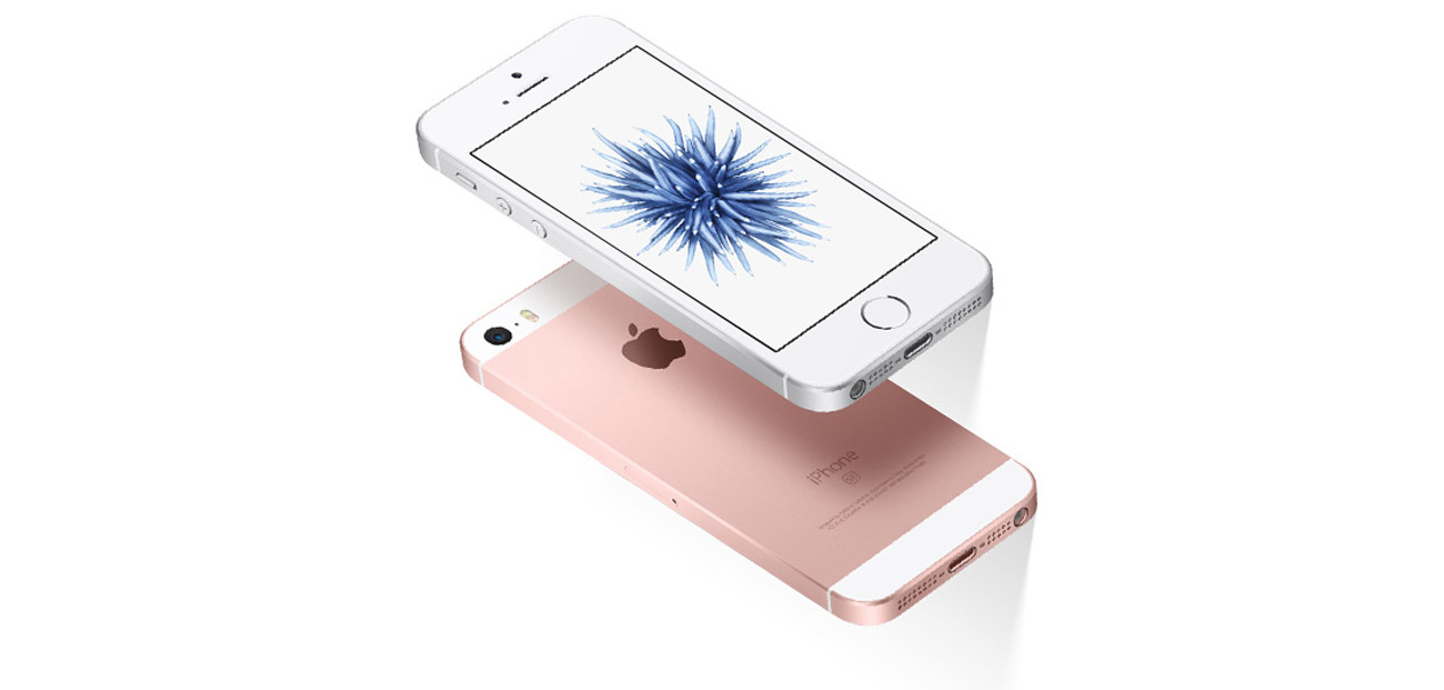 Apple iPhone SE 128GB Rose Gold aluminiowa obudowa