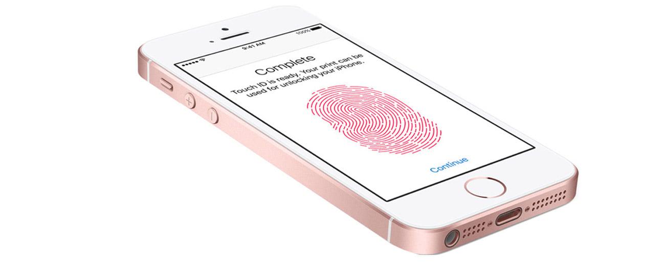 czytnik linii papilaranych iPhone SE 128GB Space Gray