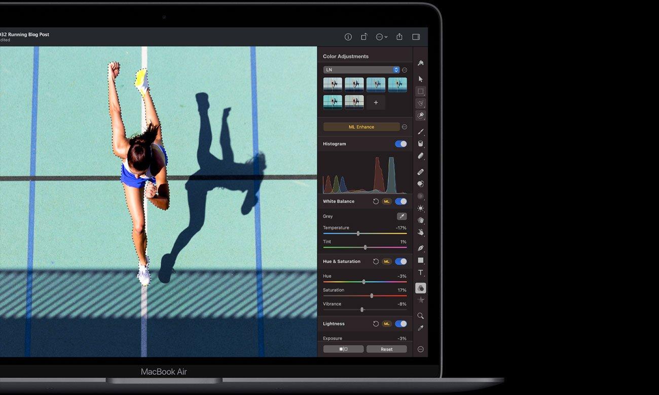Bezpieczne transakcje Touch ID z MacBook Air