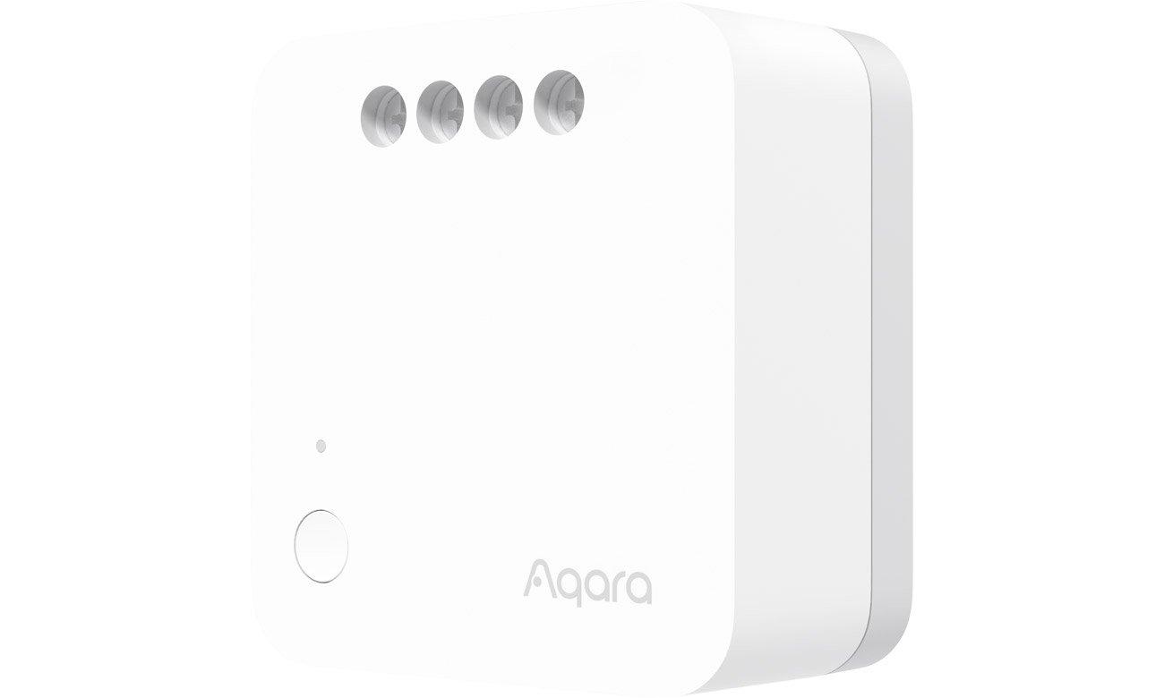 Jednokanałowy przekaźnik Aqara (bez przewodu neutralnego)