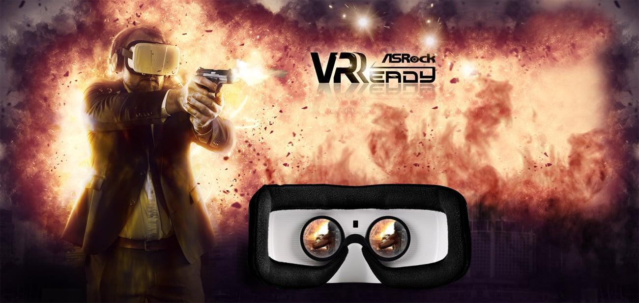 ASRock A320M-HDV VR Ready, wirtualna rzeczywistość