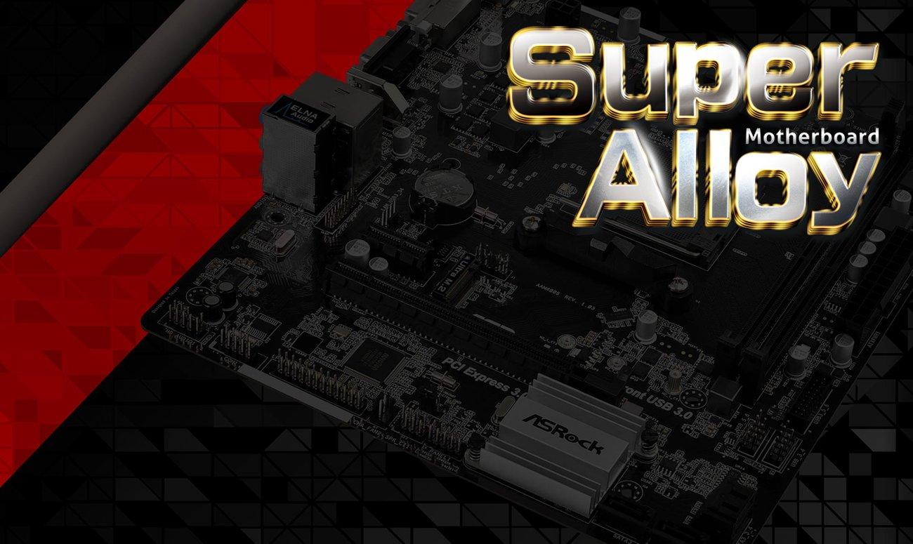 Płyta główna ASRock AB350M-HDV Super Alloy