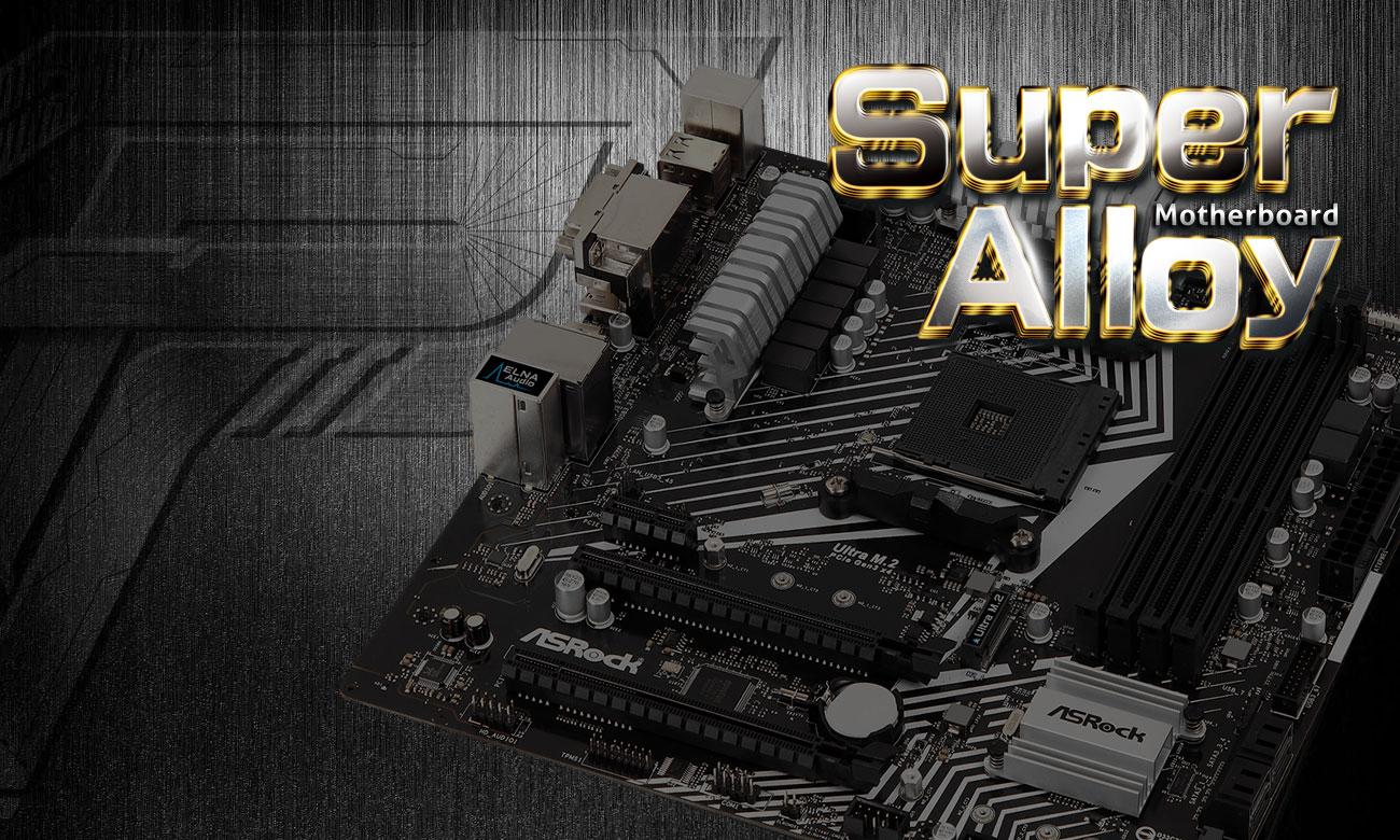 Płyta główna ASRock AB350M PRO4 R2.0 Super Alloy
