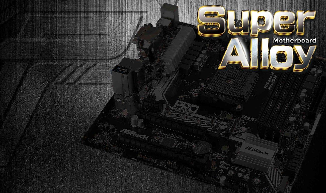 Płyta główna ASRock AB350M PRO4 Super Alloy