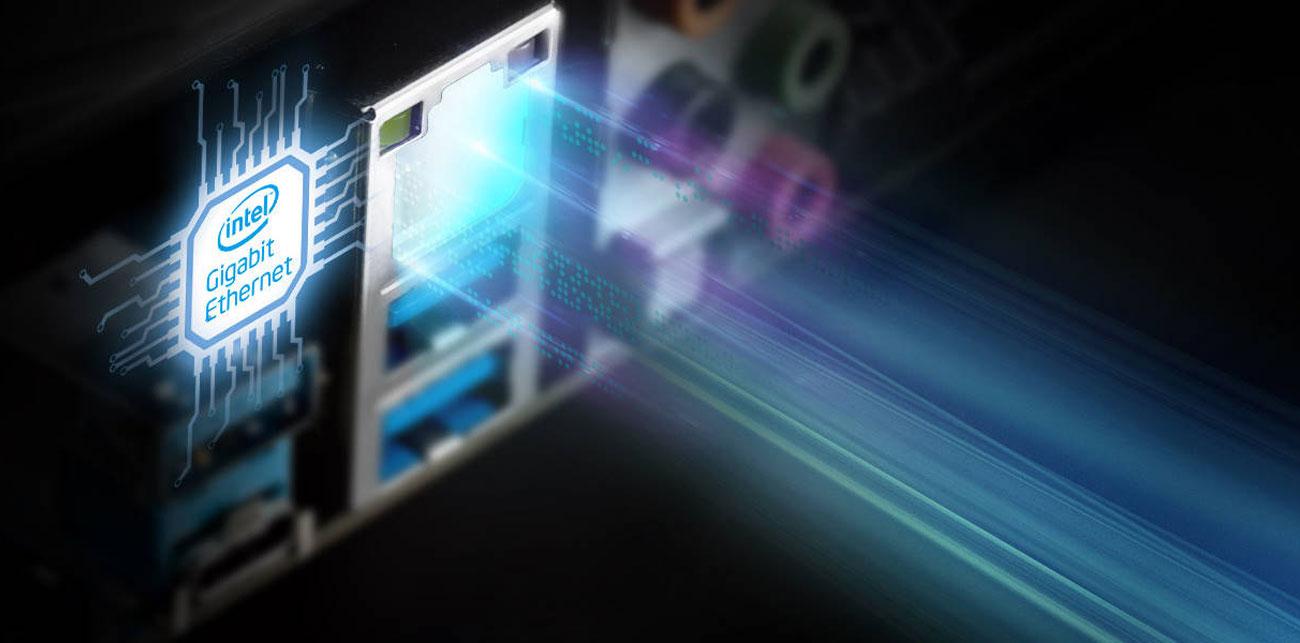 ASRock B360 Gaming K4 Gigabitowa sieć przewodowa