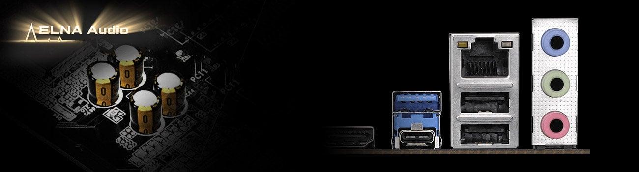 ASRock B360 Pro4 Audio ELNA