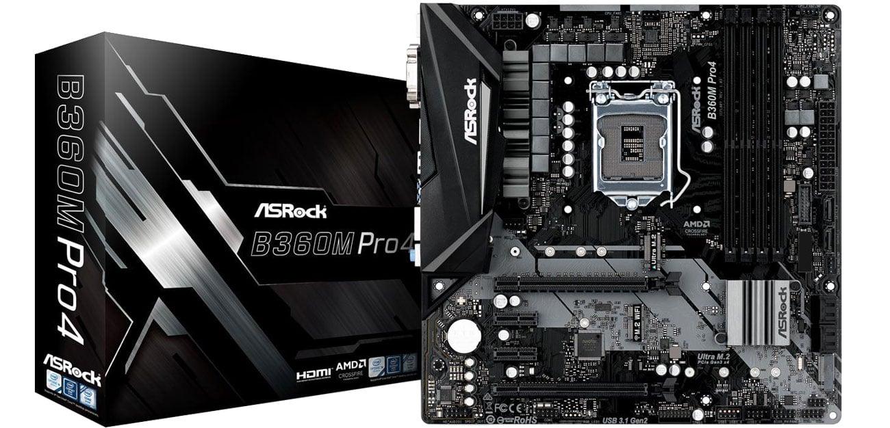 Płyta główna Socket 1151 ASRock B360M Pro4