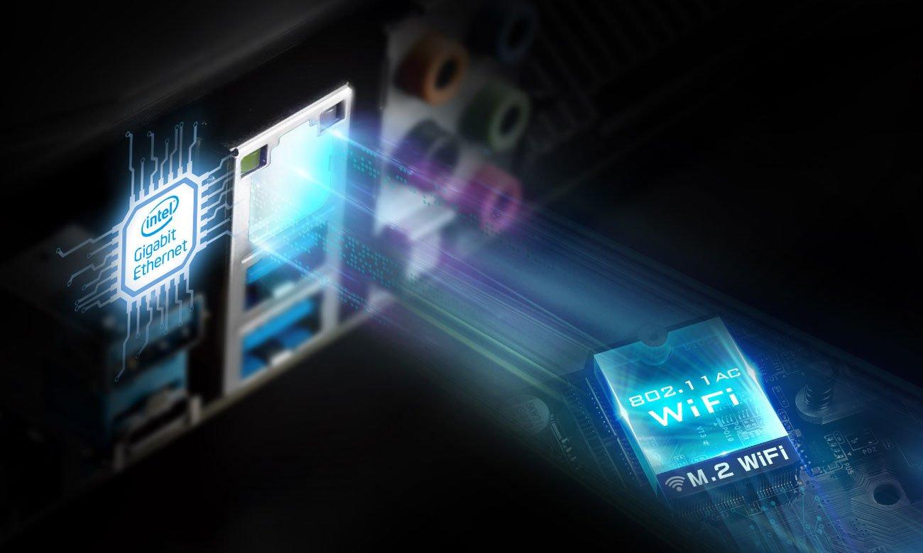 ASRock B360M Pro4 Przewodowa sieć Intel LAN