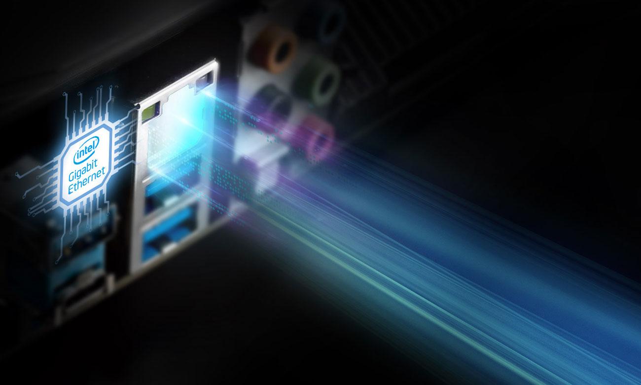 ASRock B360M-HDV Intel LAN