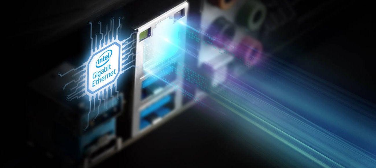 ASRock B365 Pro4 Sieć LAN