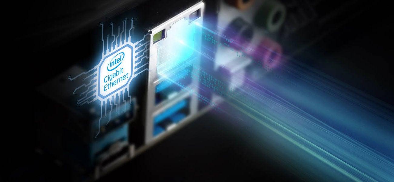 ASRock B365M Pro4 Sieć Intel LAN
