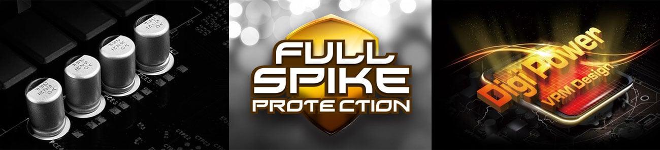 ASRock B450 Pro4 Bezpieczeństwo