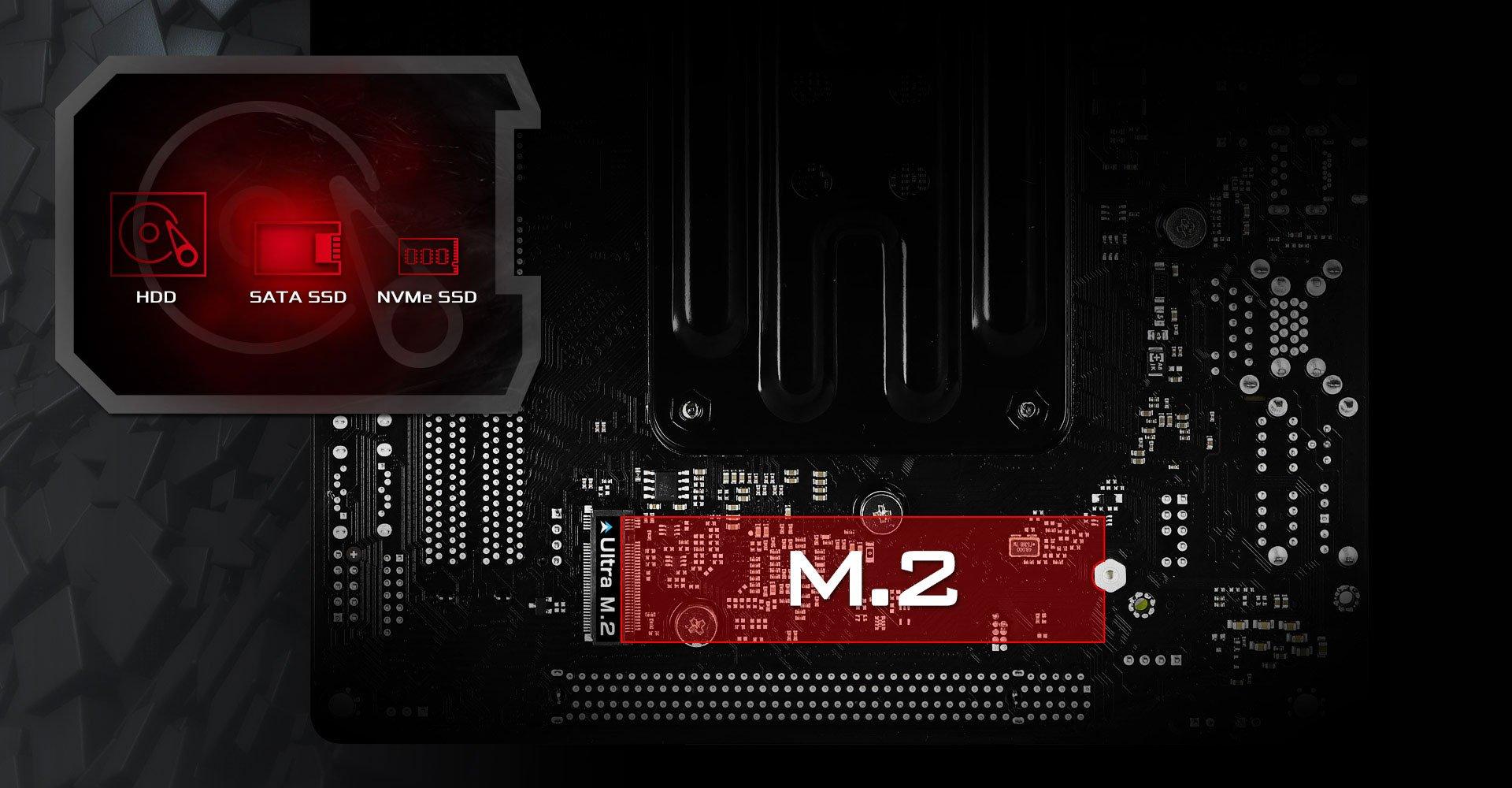 ASRock B450 GAMING-ITX/AC Złącze M.2