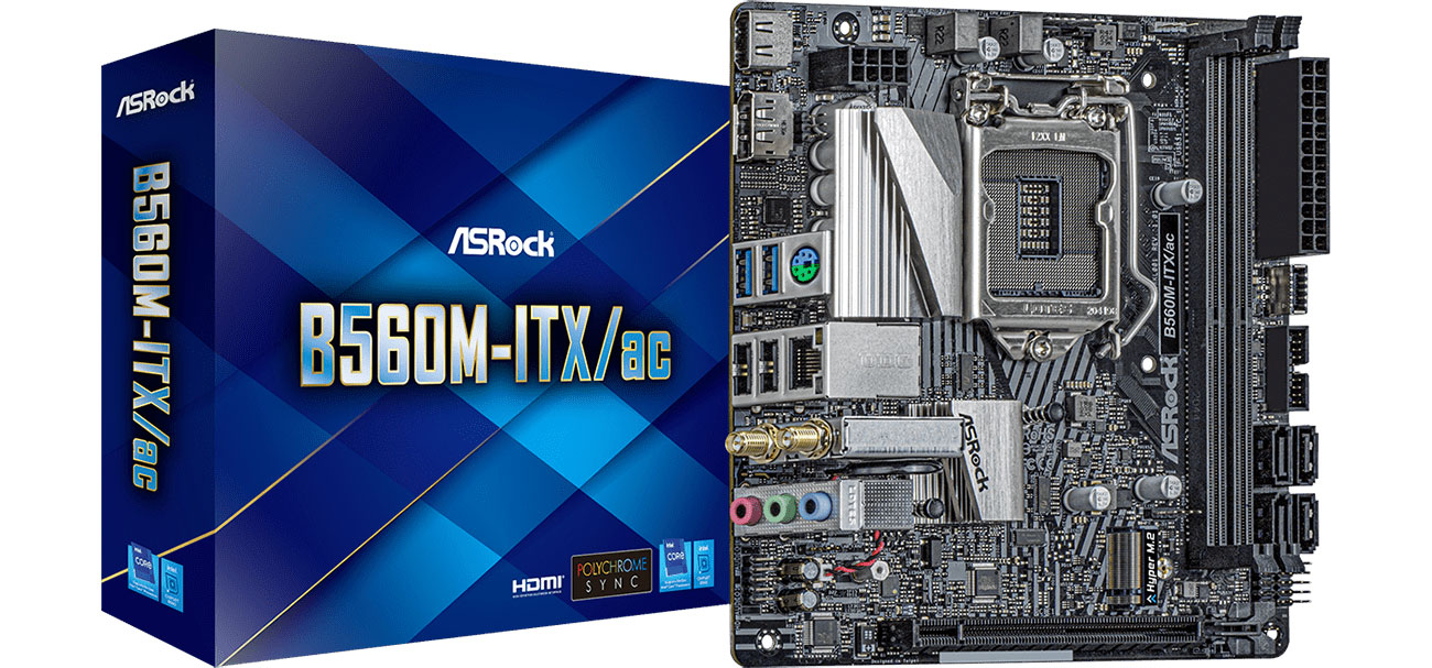 Płyta główna Socket 1200 ASRock B560M-ITX/ac