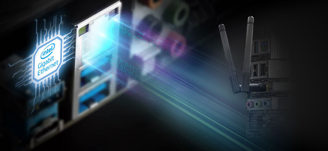 ASRock B560M-ITX/ac - Sieć LAN