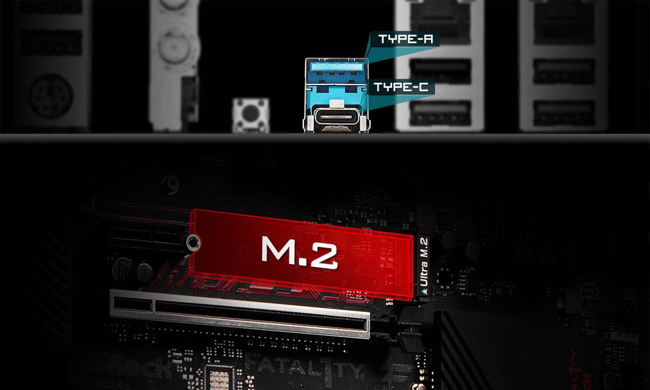 ASRock Fatal1ty X370 Gaming X USB 3.1 Gen2 PCIe Turbo M.2