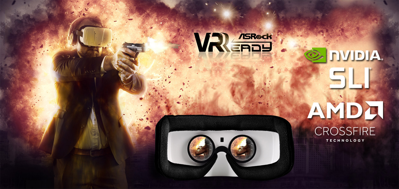 ASRock Fatal1ty X370 Gaming X VR Ready NVIDIA SLI AMD Crossfire