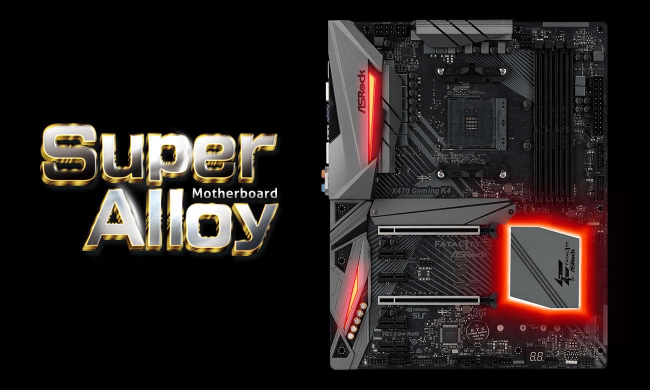 ASRock Fatal1ty X470 Gaming K4 Wytrzymałość i stabilność