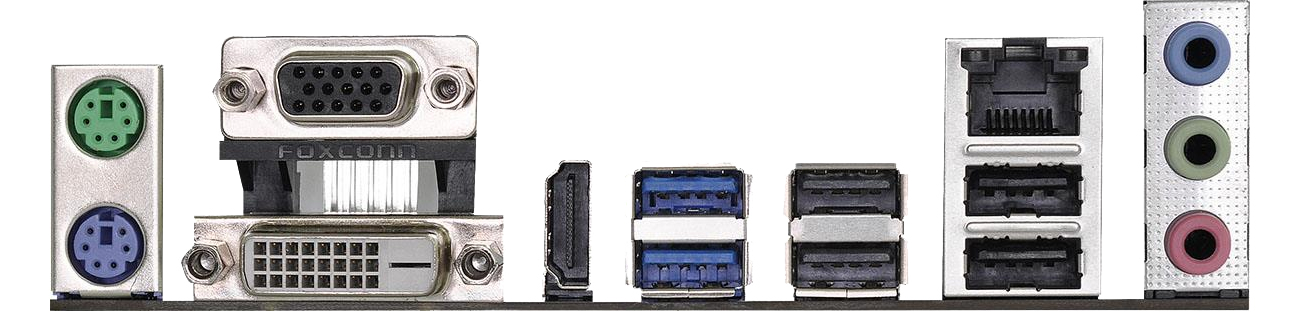 ASRock H110M-HDV R3.0 złącza