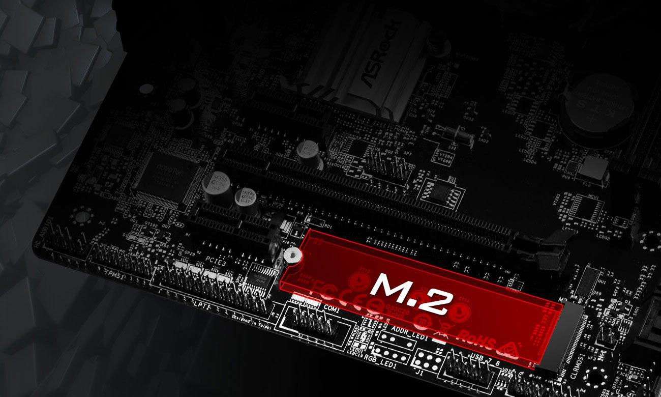 ASRock H310M-HDV/M.2 Złącze PCIe Gen2 x4 M.2
