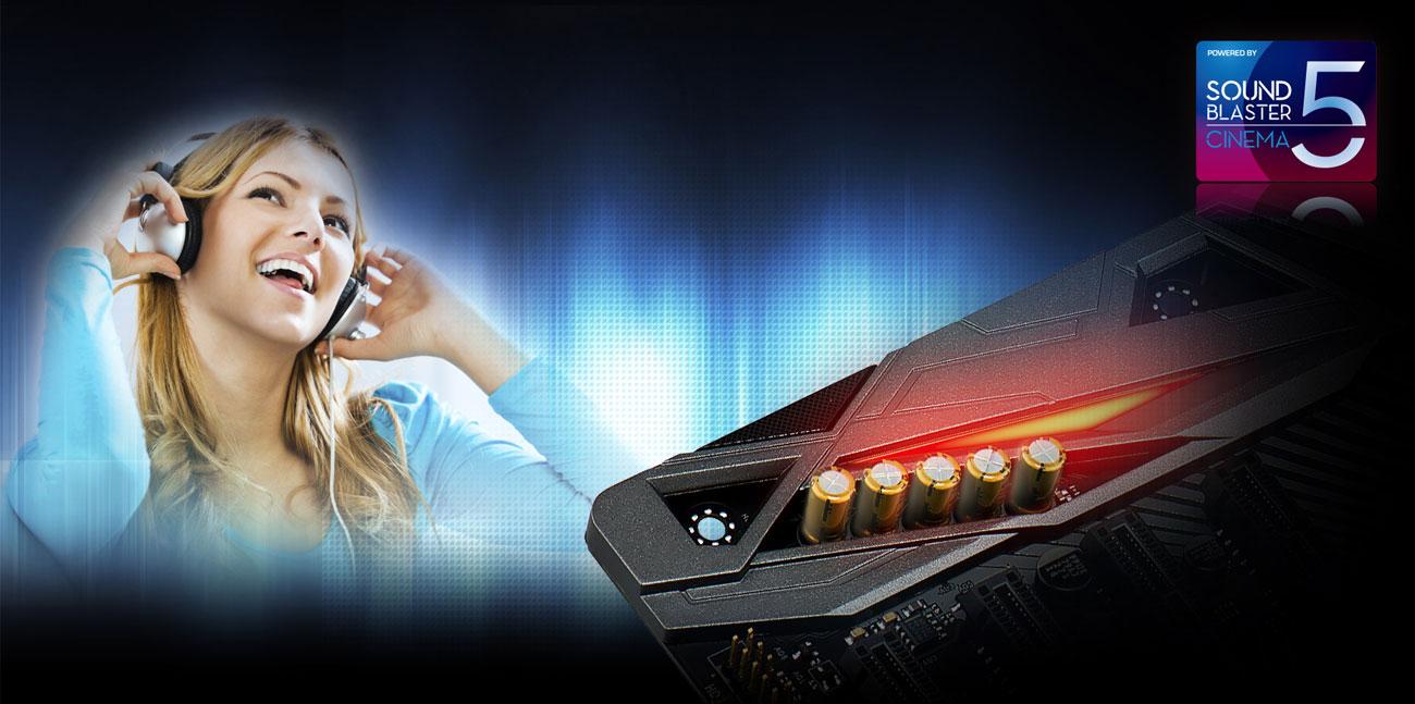 ASRock H370 PERFORMANCE Creative Sound Blaster Cinema 5