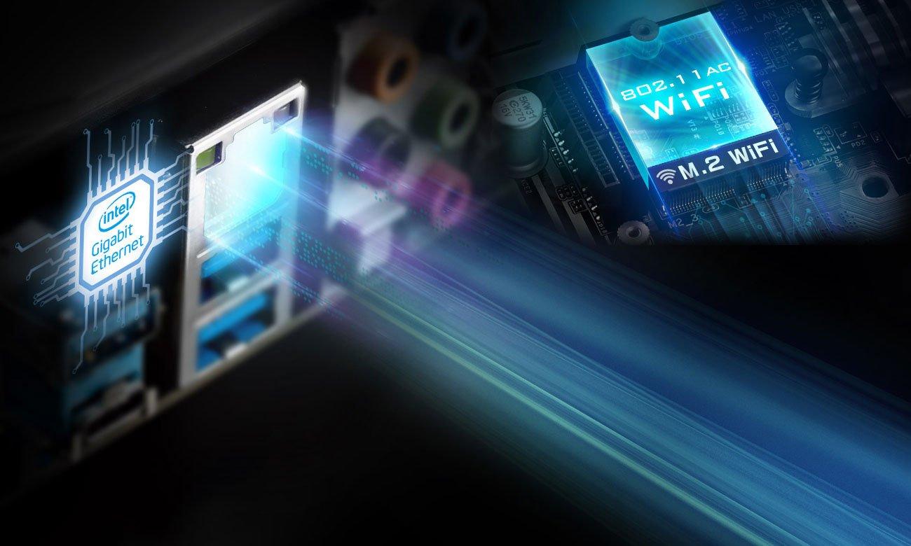 ASRock H370 PRO 4 Intel LAN Wi-Fi M.2