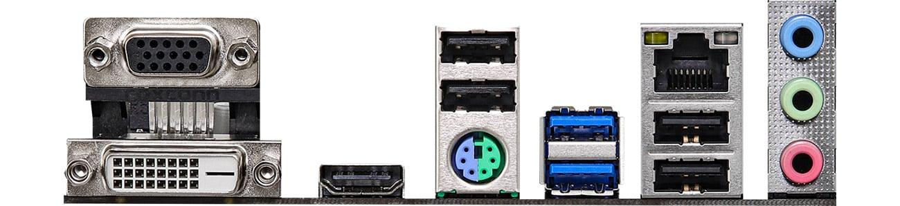 ASRock H470M-HDV - Złącza