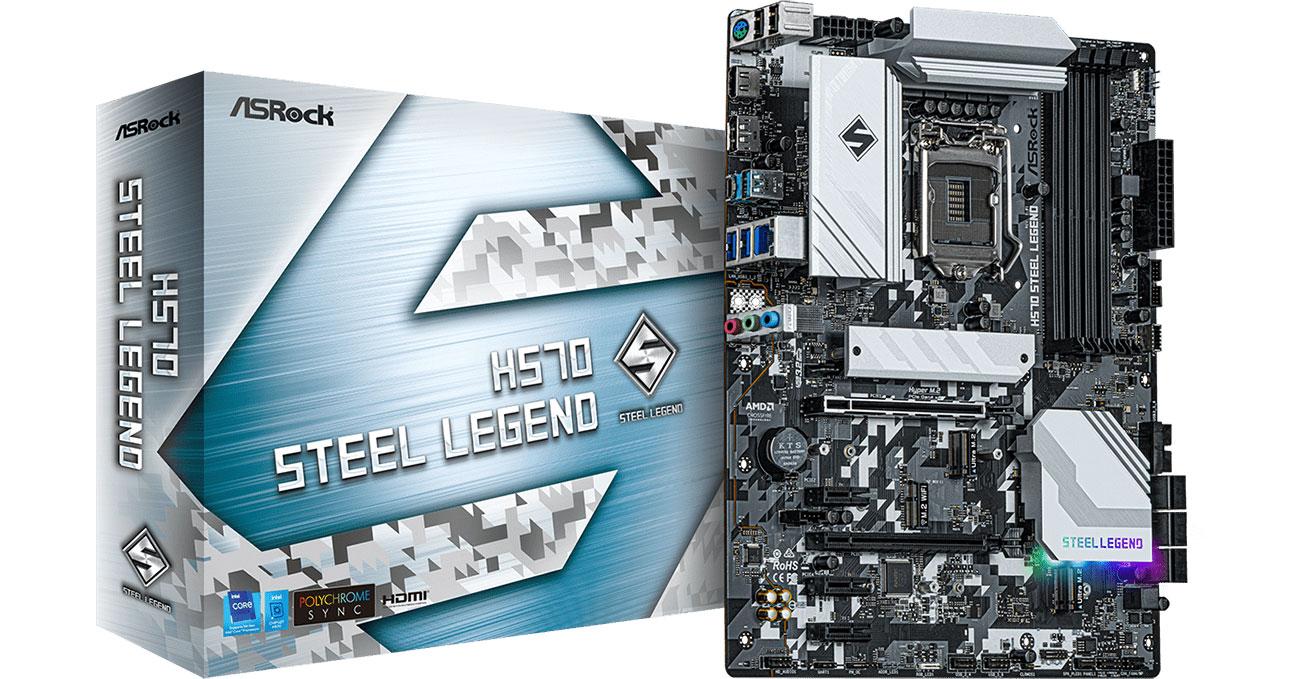 Płyta główna Socket 1200 ASRock H570 Steel Legend
