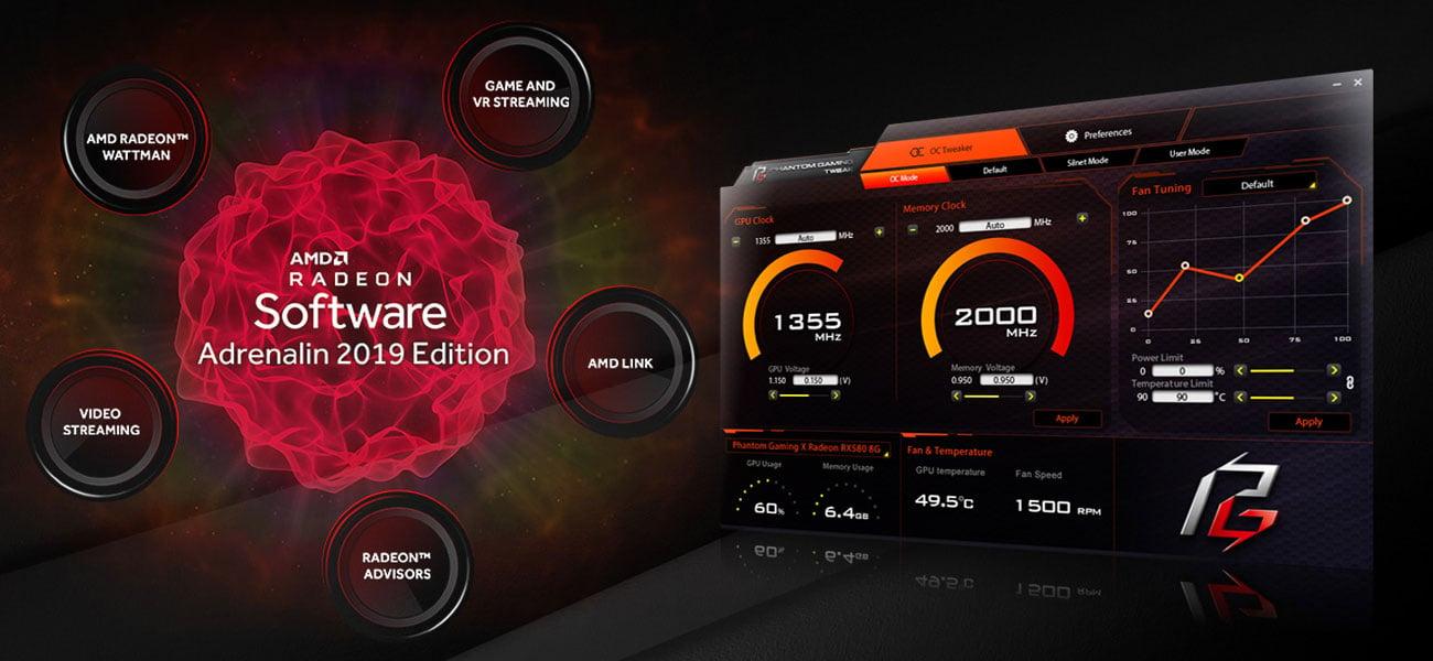 Phantom Gaming Tweak i Radeon Adrenalin 2019 Edidtion