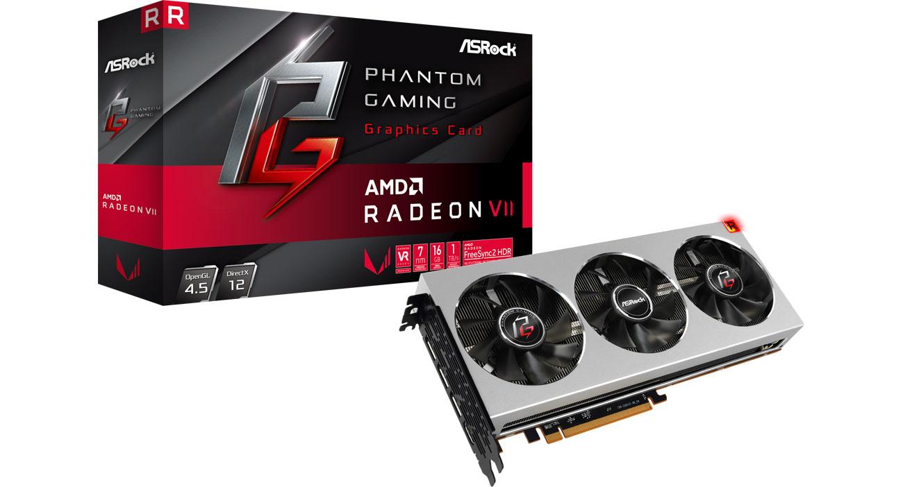 Karta graficzna AMD - ASRock Phantom Gaming X Radeon VII 16G